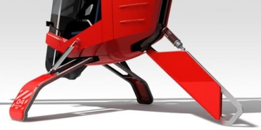 """The """"Muecke"""" (mosquito) single seater lightweight helicopter concept"""