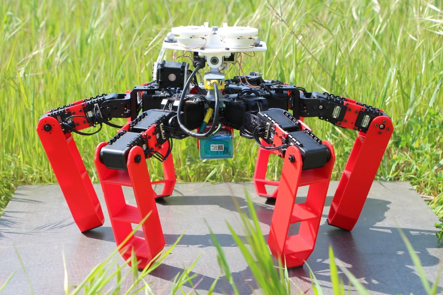 AntBot can determine its heading with an accuracy of 0.4 degrees