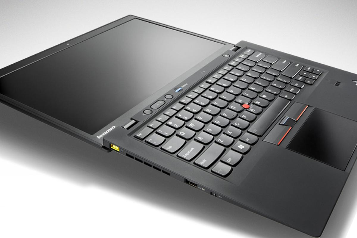 Lenovo's ThinkPad X1 Carbon weighs less than three pounds (1.3 kg)