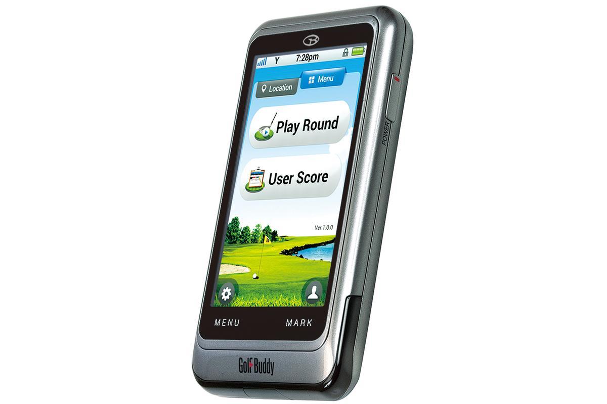 The GolfBuddy PT4 handheld GPS