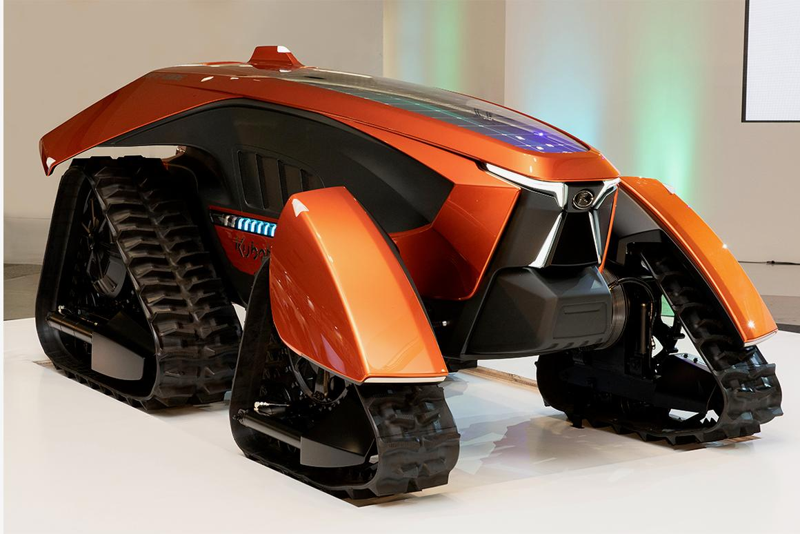 The X tractor is being presented in commemoration of Kubota's 130th year in business