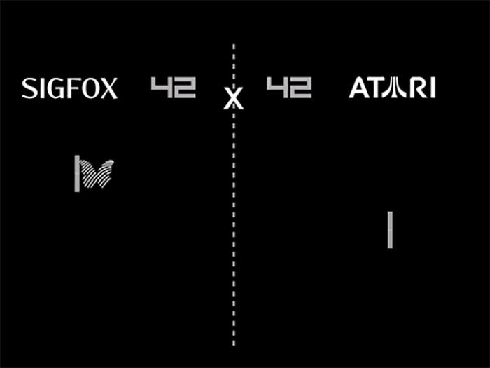 Atari has announced a partnership with Internet of Things specialist Sigfox to develop a new set of products for the connected home