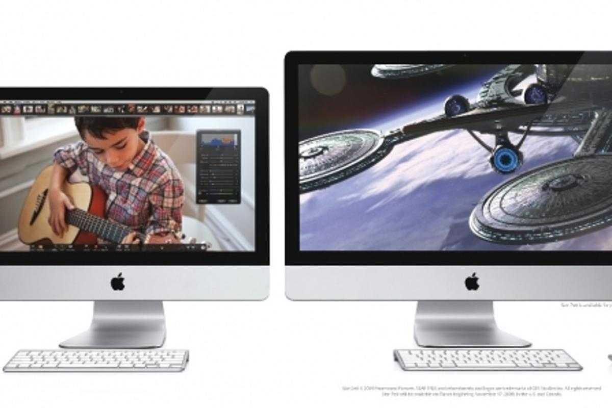 The new iMac range features a 21.5-inch and a 27-inch LED backlight widescreen models with many features including the new Magic Mouse