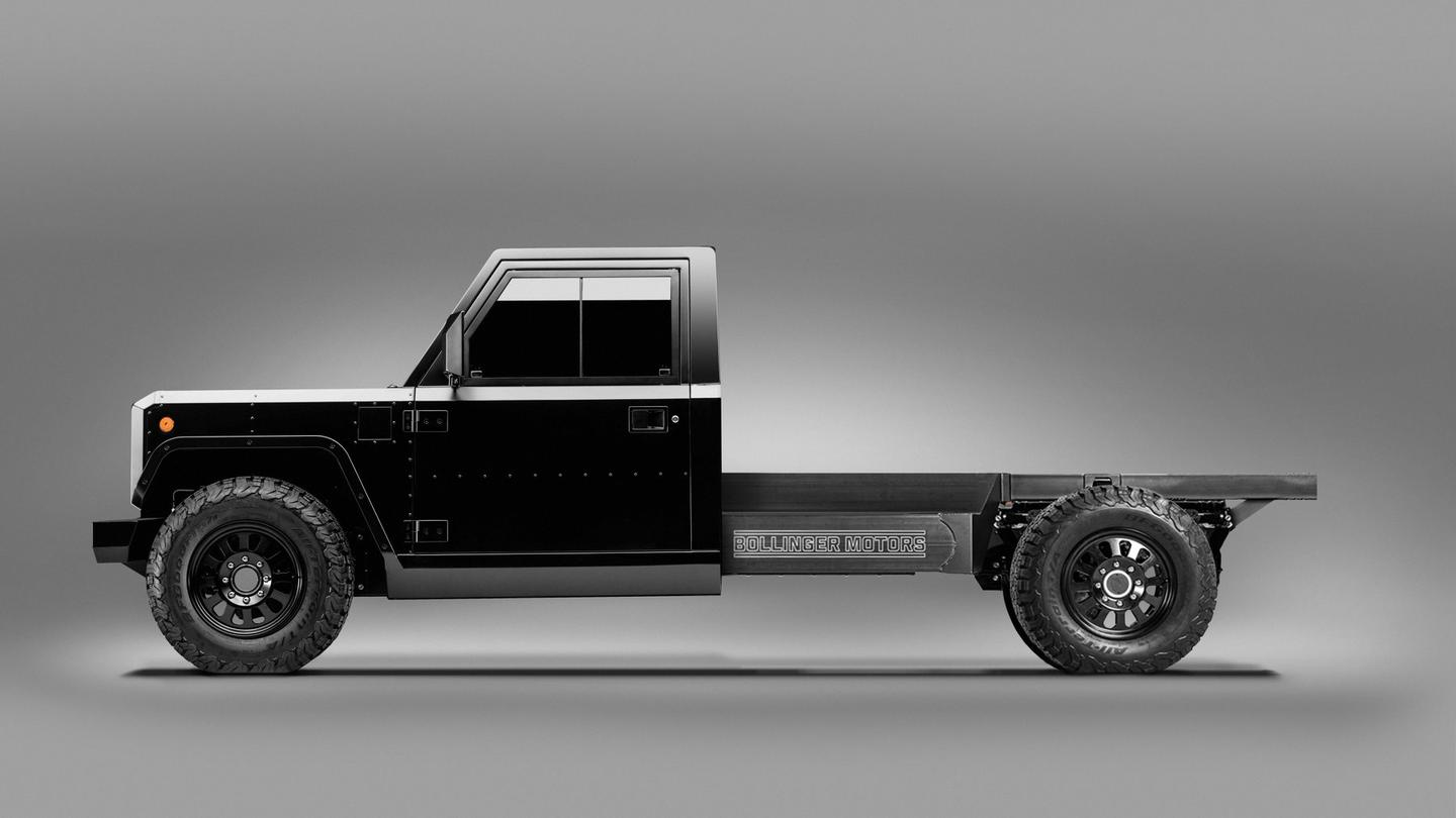 Bollinger opens up the back of its all-electric truck platform