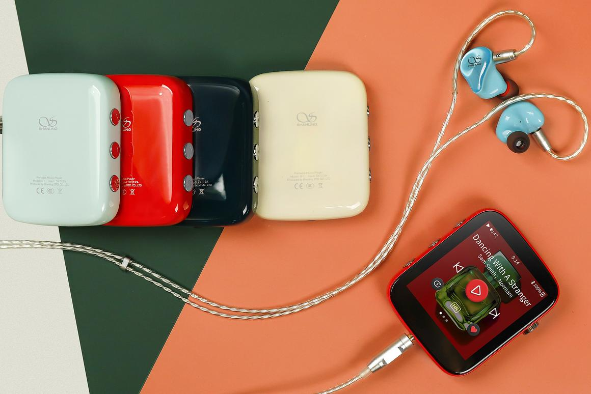 The Shanling Q1 portable music player is raising production funds on Kickstarter
