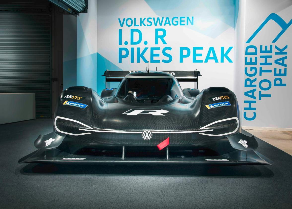 Just like the VWGolf entered in the race in1987, the I.D. R Pikes Peak will be powered by twin engines