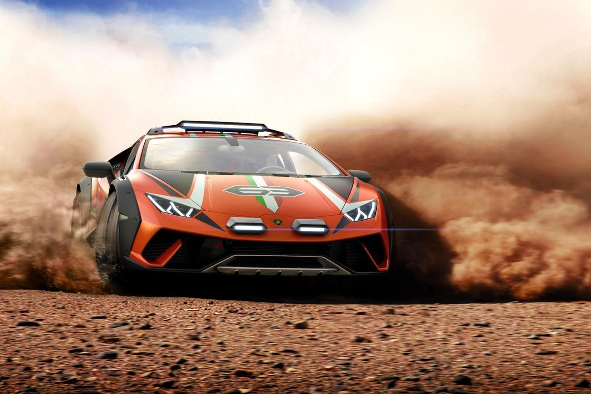 Going where the average Lamborghini dare not go