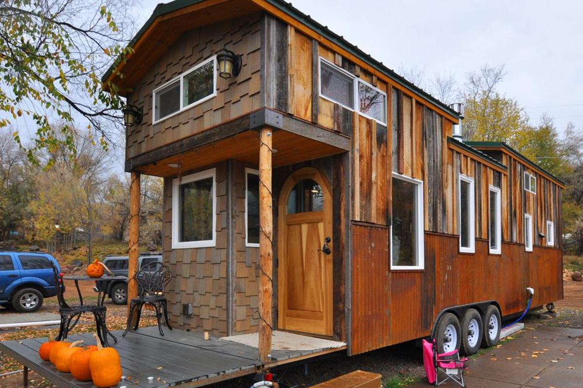 Rocky Mountain Tiny Houses says that building another home to the same spec would come to around US$105,000