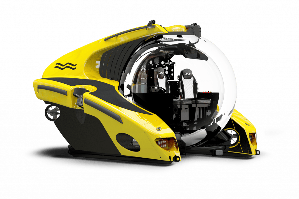 The deep-diving U-Boat Worx C-Research uses a new battery