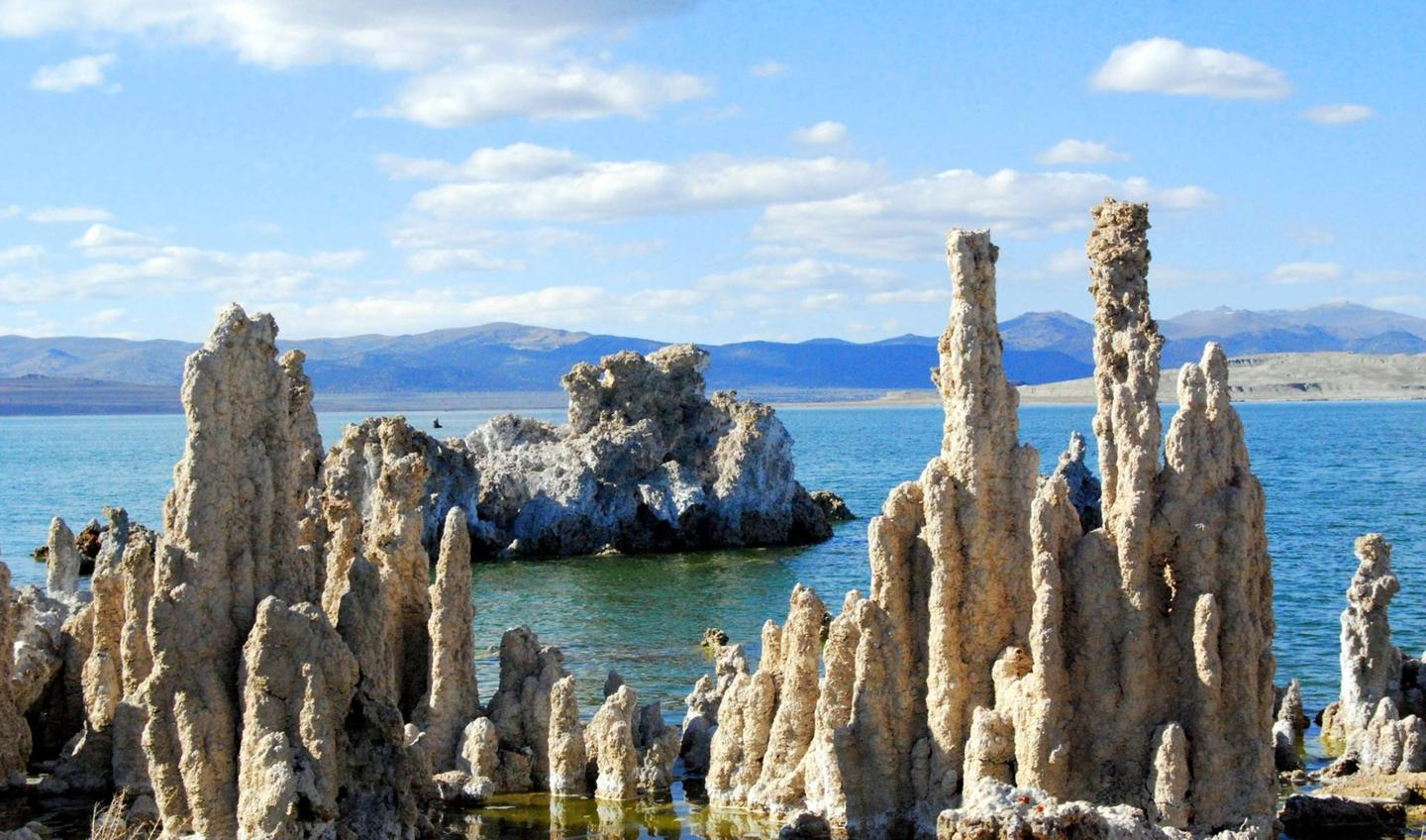 Mono Lake, California is similar to some environments in the Solar System where life may exist