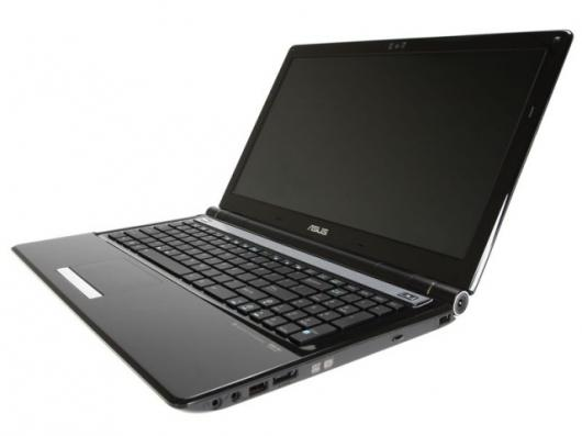 The slim lines of ASUS' new range on notebooks