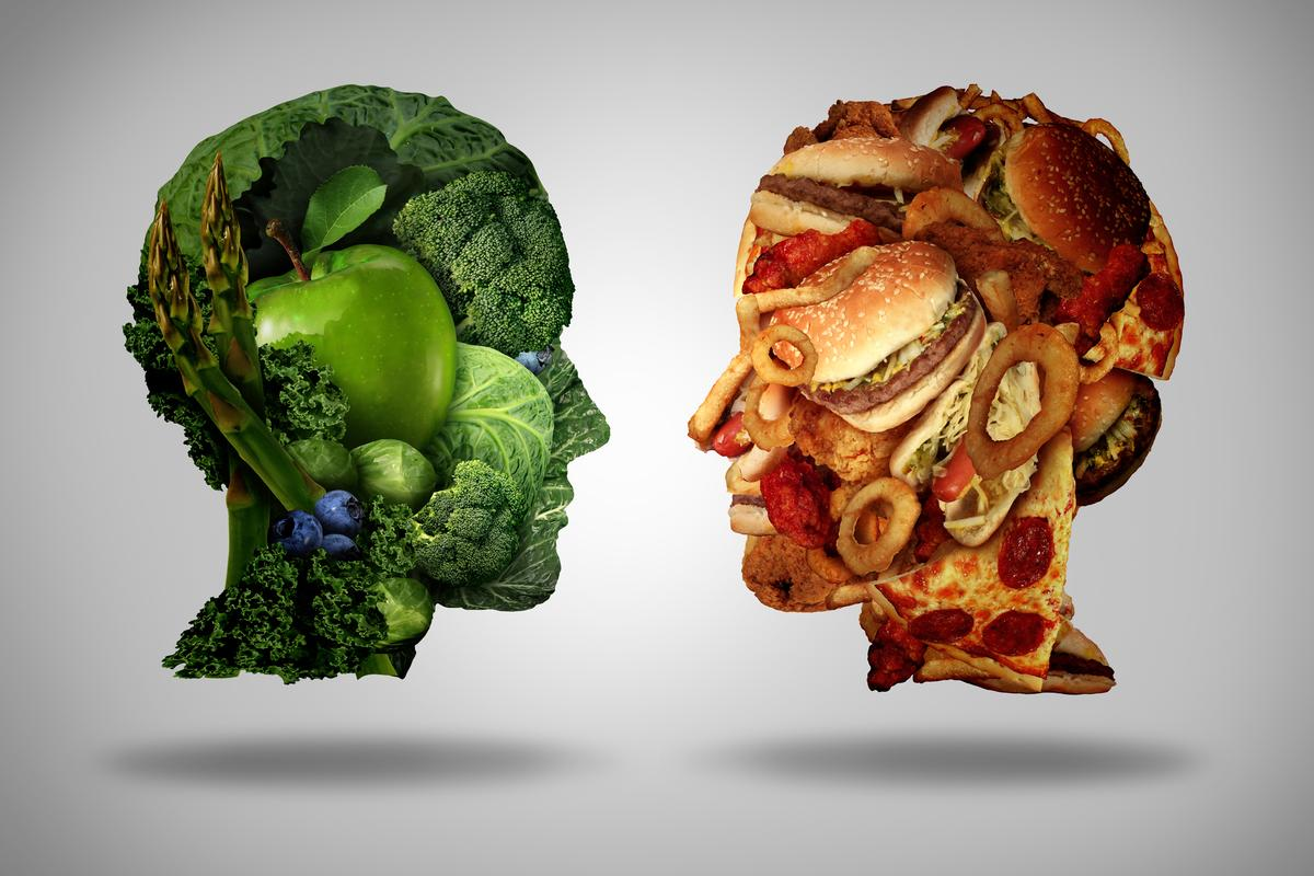 Can a healthy diet improve symptoms of depression? Or is a poor diet simply a consequence of depression?