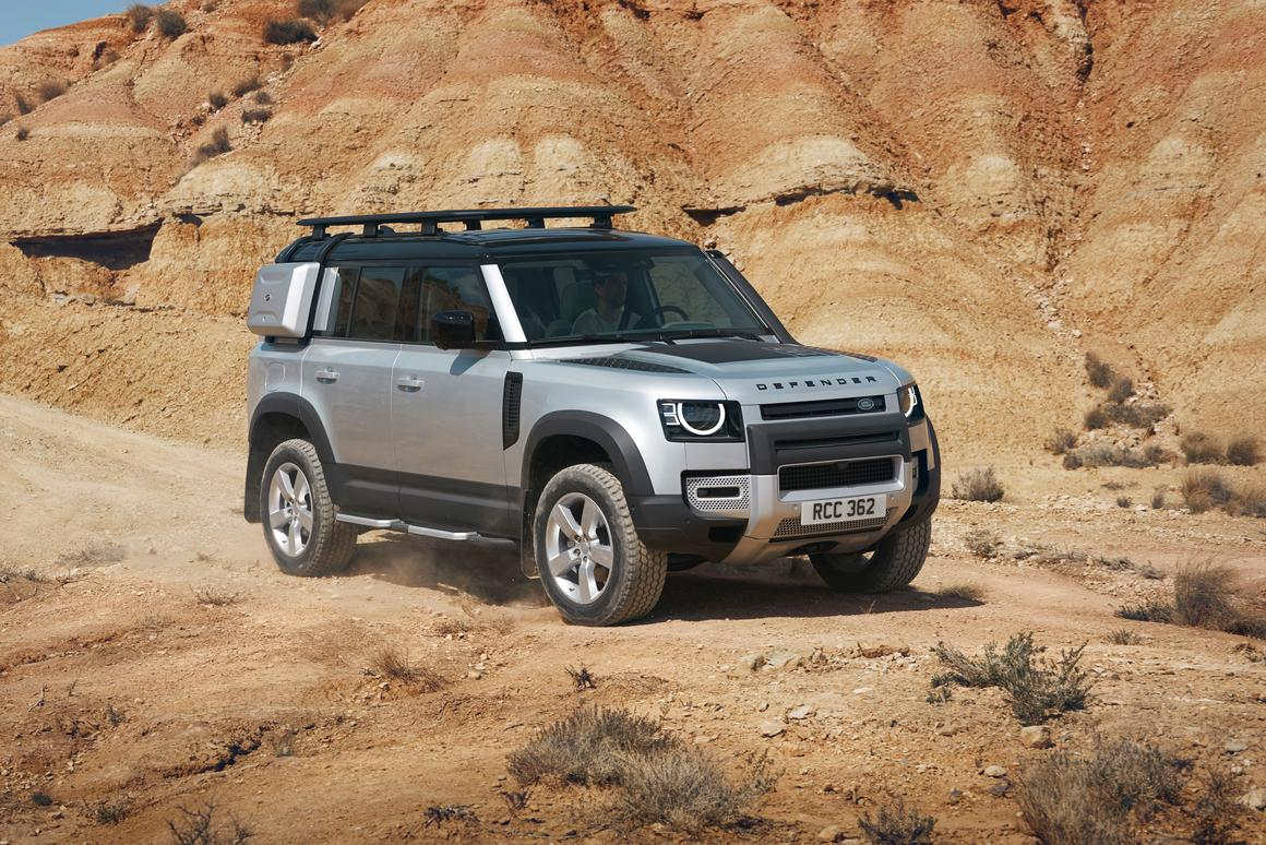 2020 Land Rover Defender: News, Design, Release, Price >> The Legend Reborn 2020 Land Rover Defender Debuts In Frankfurt