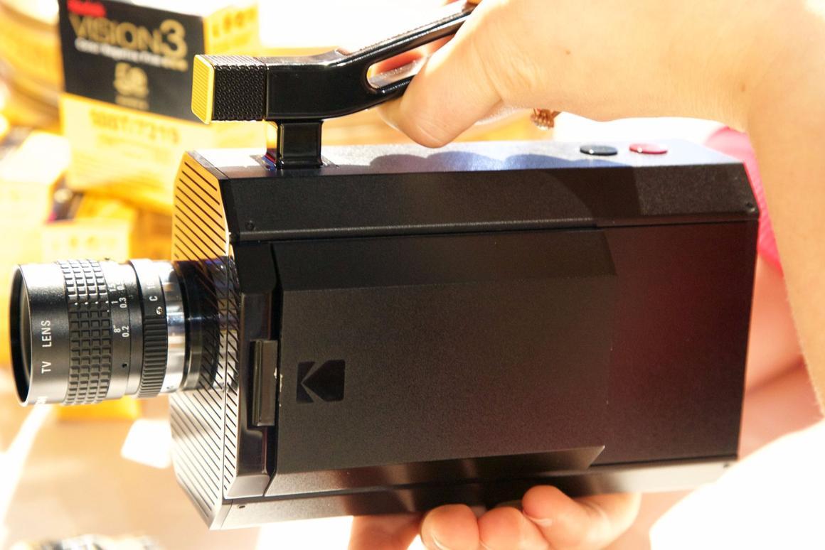 The Kodak Super 8 camera is one component of the company's just-announced Kodak Super 8 Revival Initiative