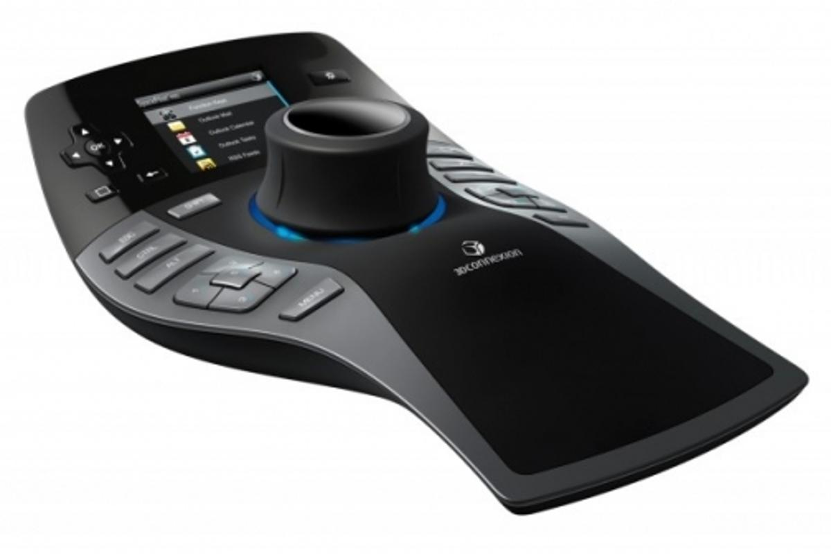 The SpacePilot Pro looks like the ultimate mouse for gamers but is, in fact, a professional design tool