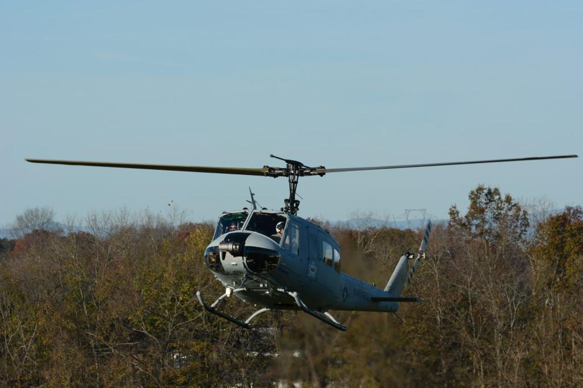 The flight by the AACUS-equipped helicopter is billed as thefirst ever autonomous point-to-point cargo resupply mission