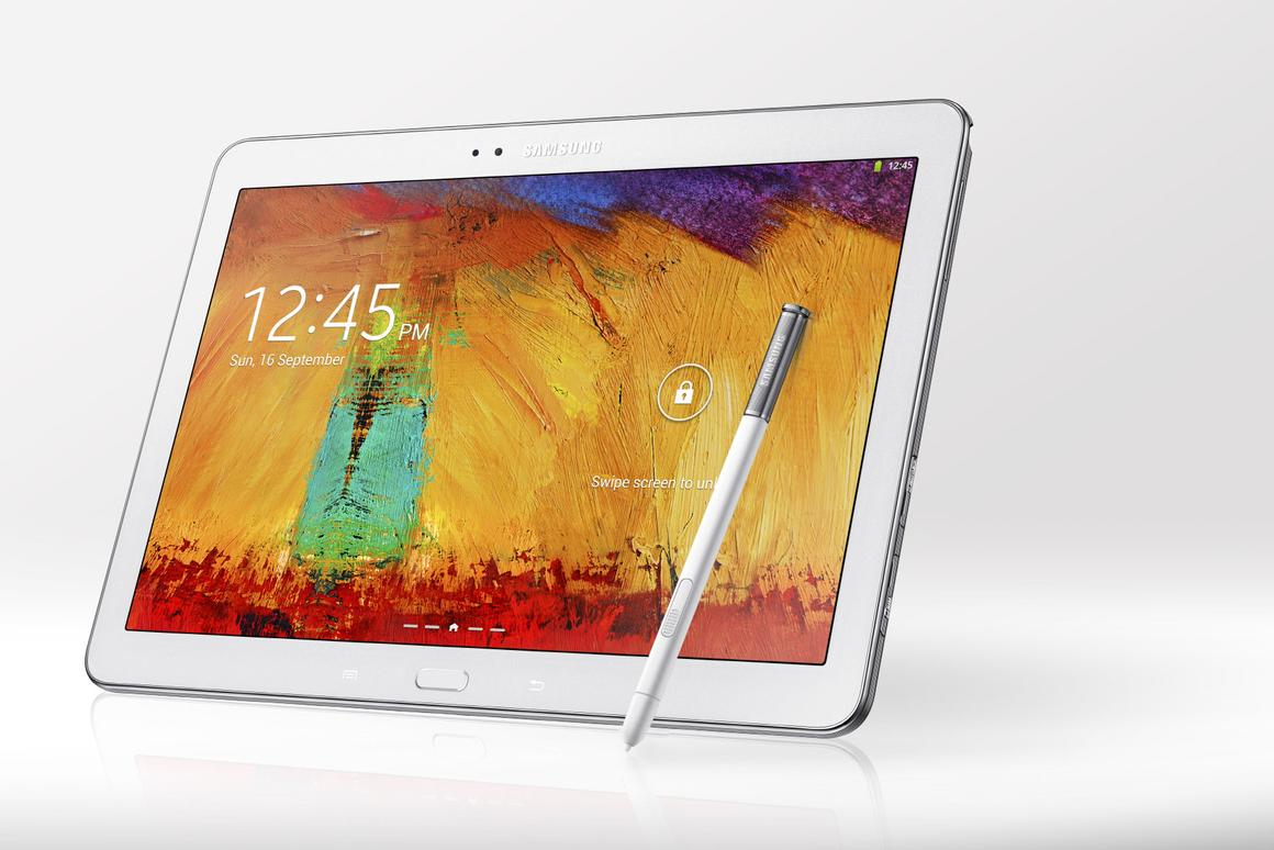 Samsung finally moved one of its tablets into the high-end, with the 2014 edition of the Galaxy Note 10.1