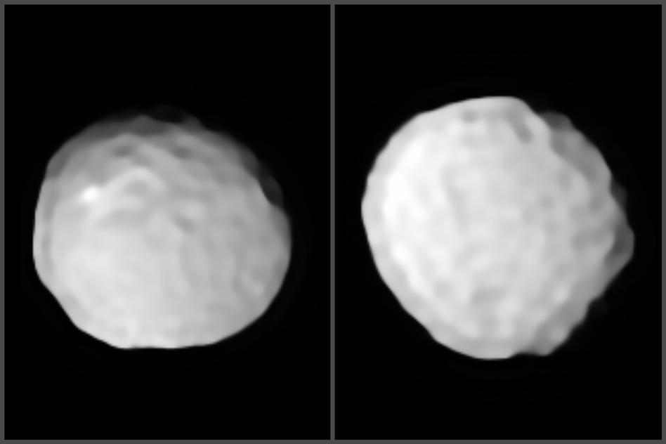 "Pallas earns its nickname as the ""golf ball asteroid"" in these new images"