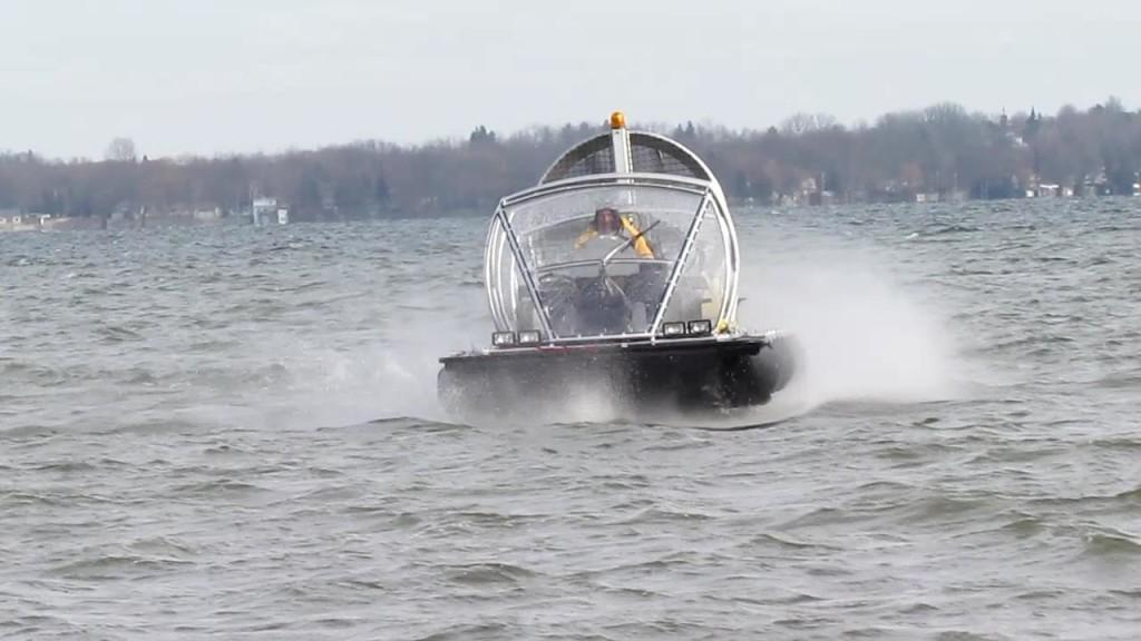 "Although the amphibious craft is officially classed as a ""pontoon inflatable boat,"" it's designed to combine the best features of a variety of similar vehicles"