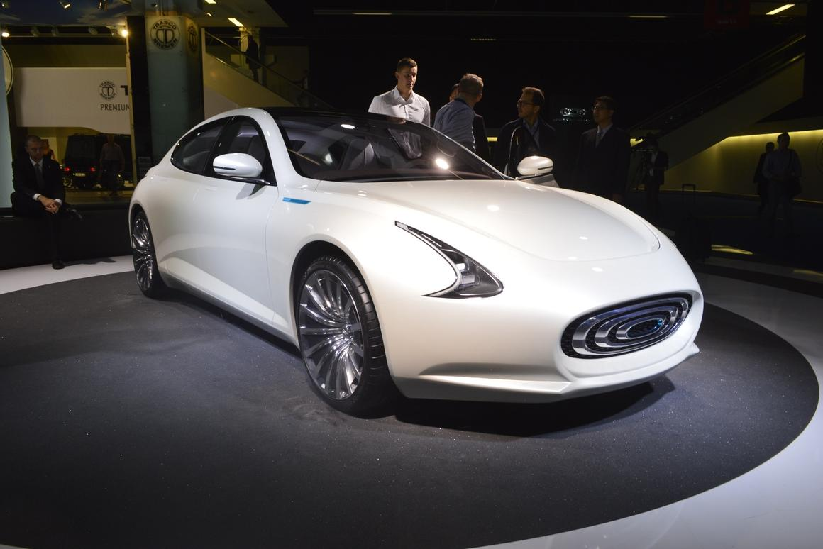 The Thunder Power Sedan is the Taiwanese company's first foray into the car market