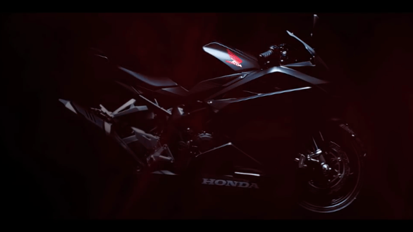 2017 Honda CBR250RR: the closest we've got to a full picture at this stage