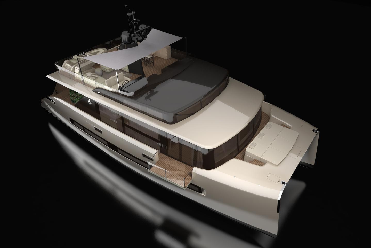 Picchio Boat by yacht designer Christian Grande