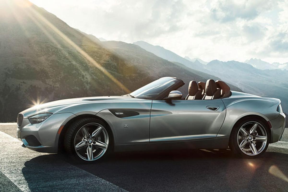 The BMW Zagato Roadster