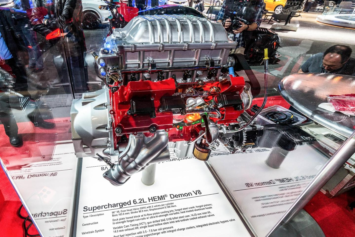 The beating heart of the Dodge Demon