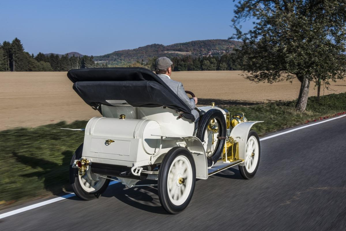1908 Laurin & Klement BSC: fully restored and on the road