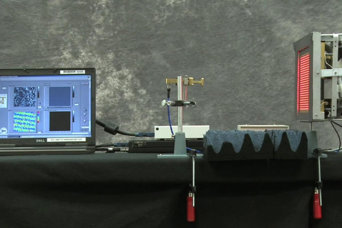 A research team from the Missouri University of Science and Technology has succeeded in creating a portable scanning system that's capable of looking inside objects or structures and revealing hidden secrets