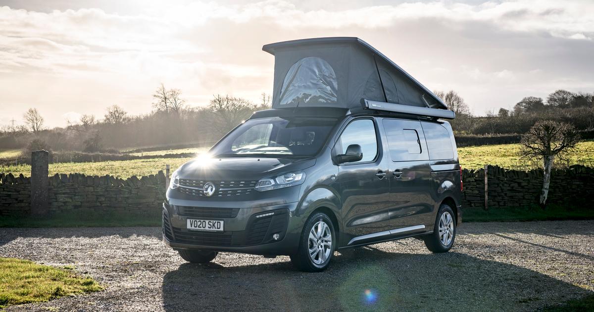 Vauxhall Elite camper van to roam roads as both an electric and diesel