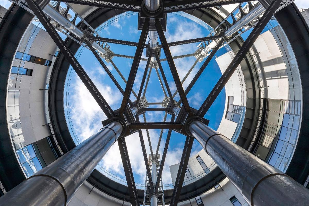 Gasholders London,by WilkinsonEyre and Jonathan Tuckey Design, is one of the 61 winners of theRIBA London Awards 2018
