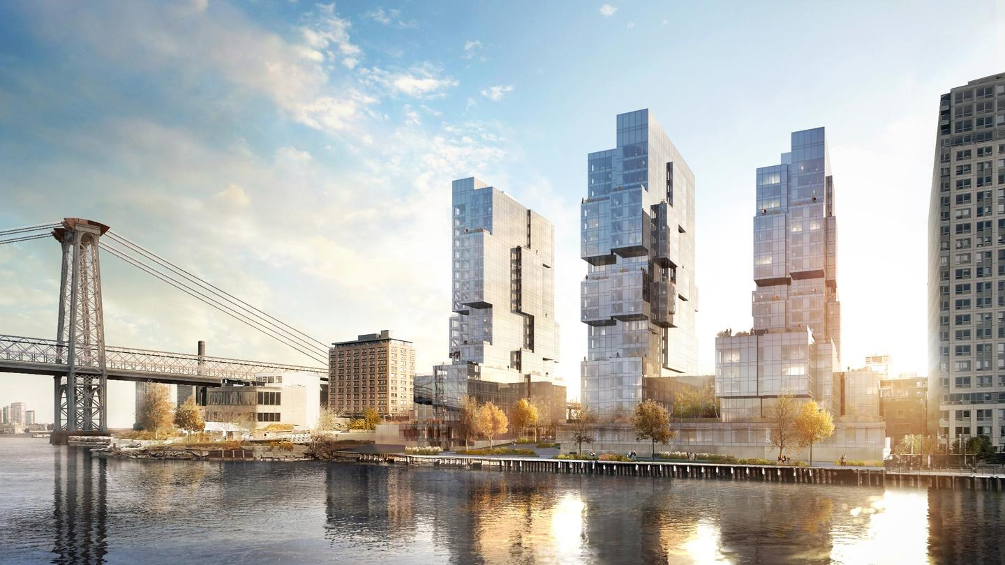 416-420 Kent Avenue is slated to become a major feature of the Williamsburg, Brooklyn skyline