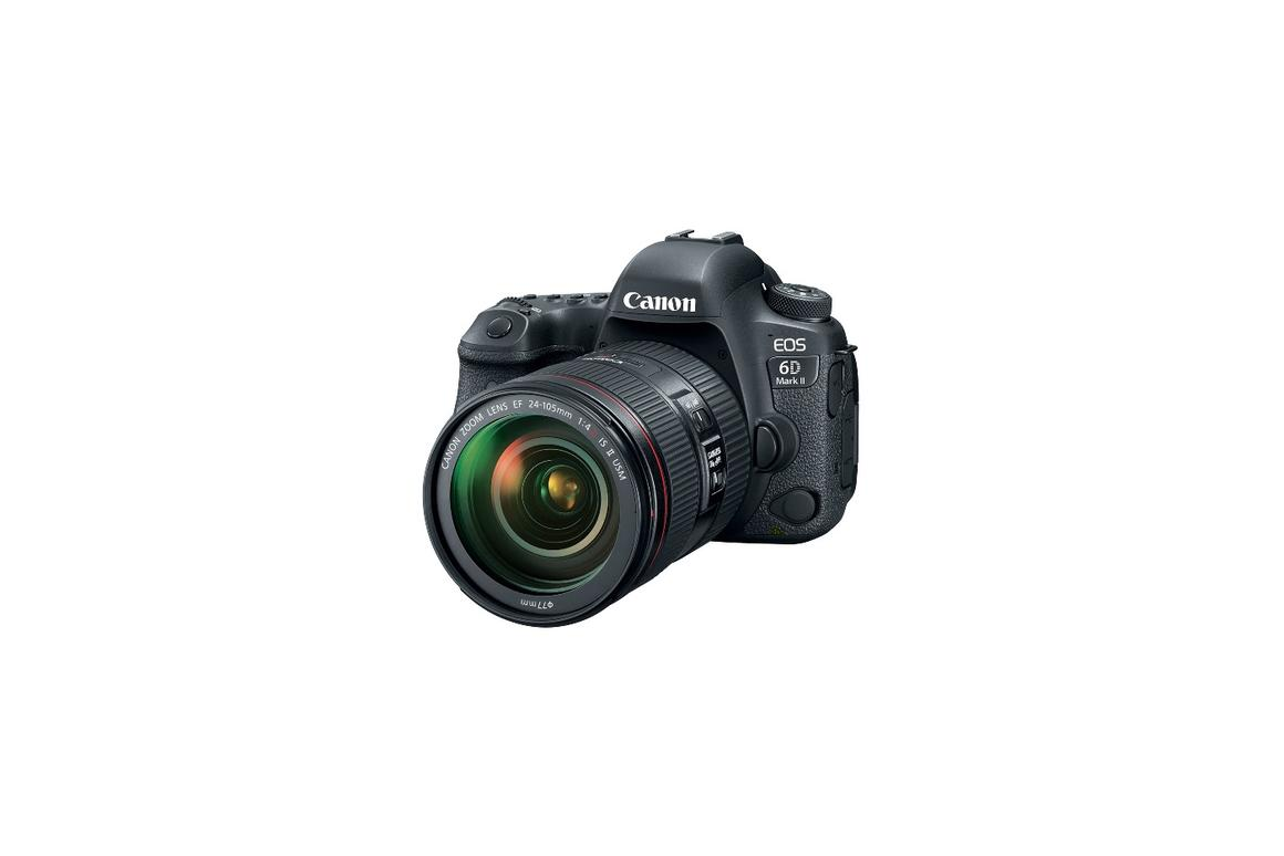 Canon EOS 6D Mk II packs 26-MP sensor, 45-point autofocus