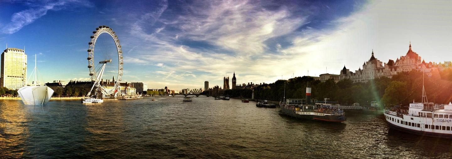 The firm says that an annual Frost Fair was held on the River Thames until the 1830s