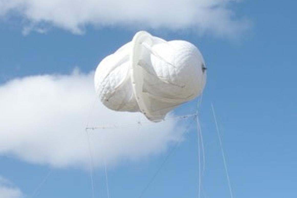 Magenn's MARS floating wind generator