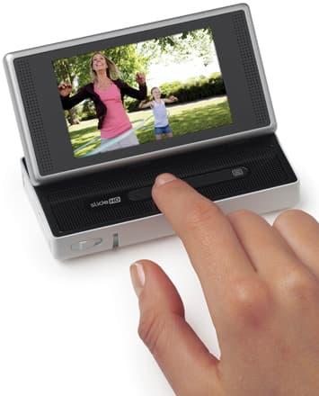 Flip SlideHD features a Touch slide strip