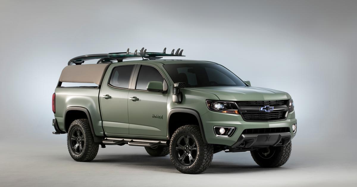 Chevrolet surfs into SEMA with Colorado Z71 Hurley Concept