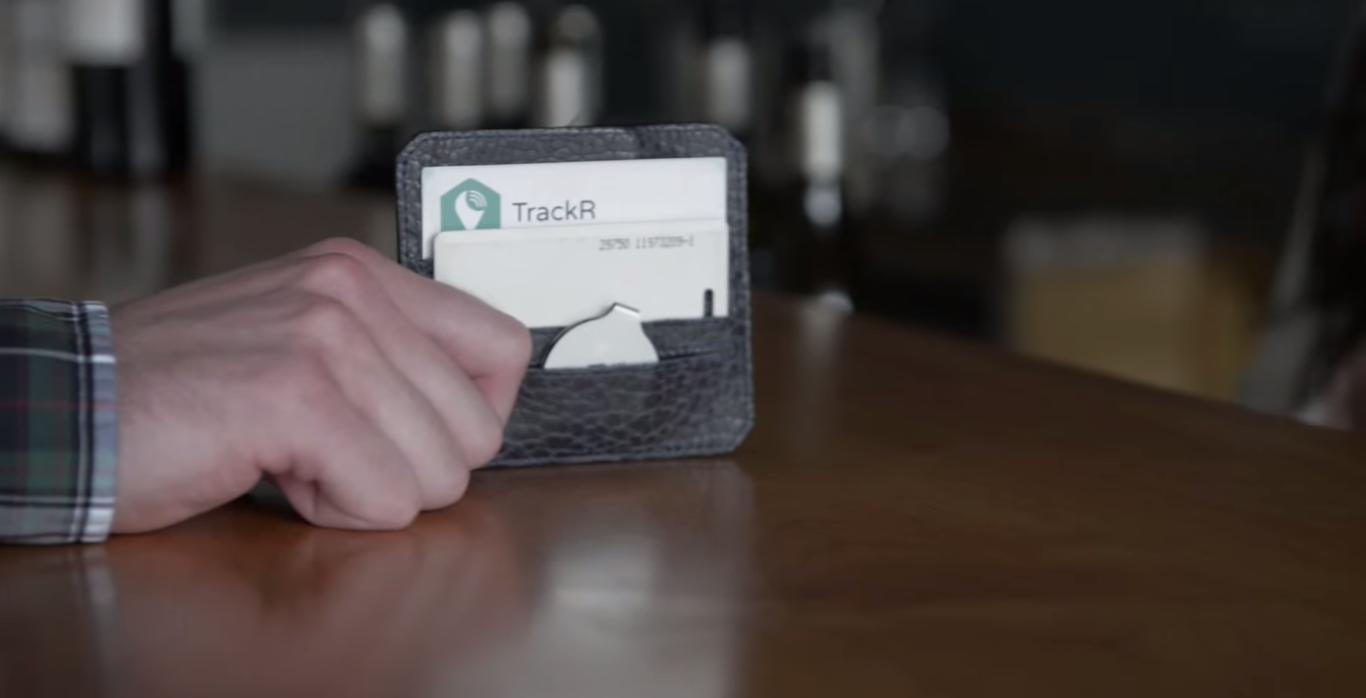 TrackR bravo is claimed to be the thinnest item-tracking