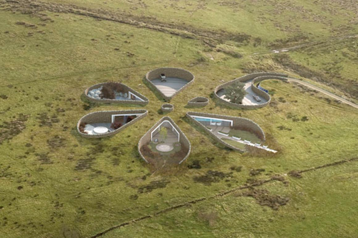 Planning has been granted for a unique zero-carbon underground house in the U.K.