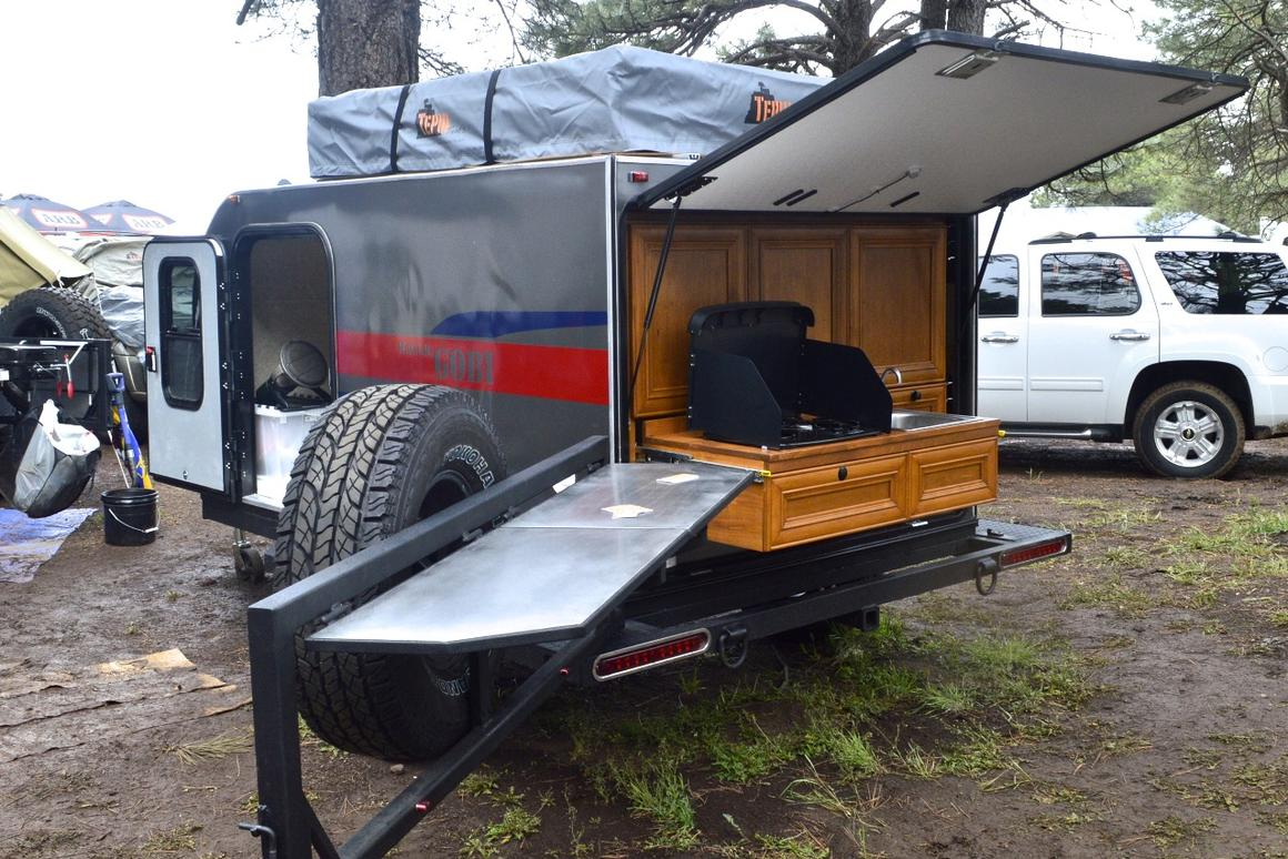 The all-new BCT MOAB Gobi off-road teardrop trailer