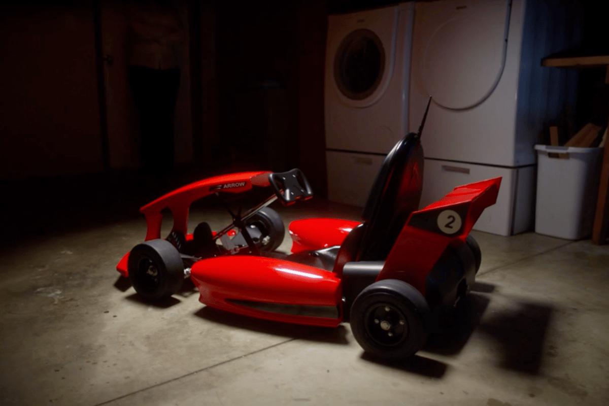 Arrow Smart-Kart with red race car body kit