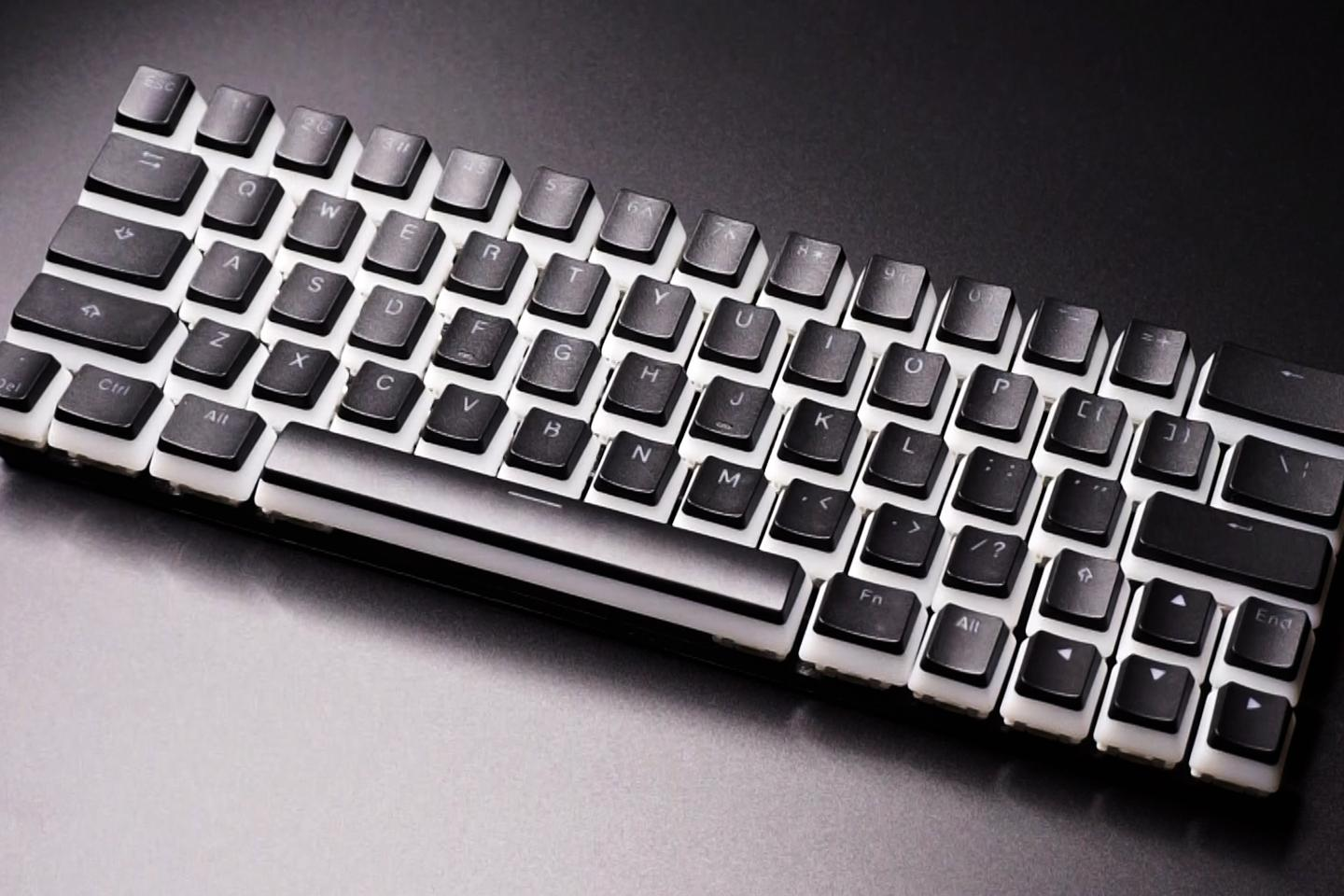 The CharaChorder Lite keyboard is presently on Kickstarter
