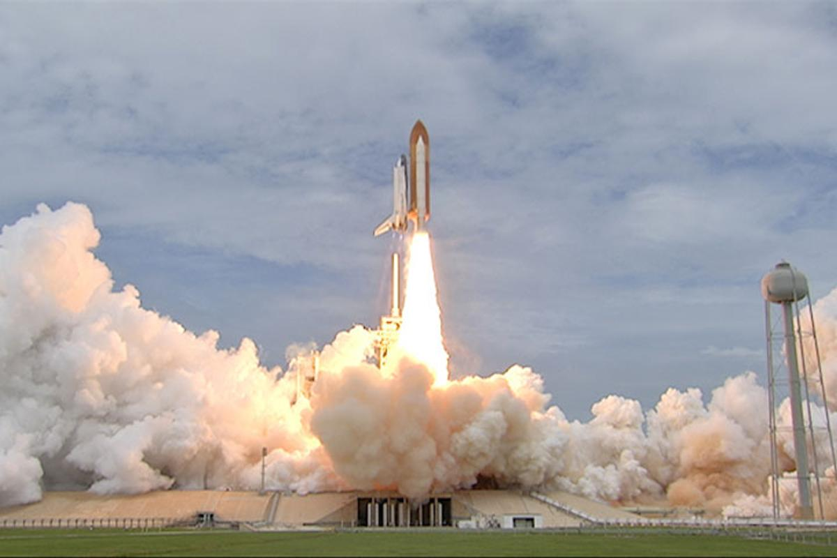 The space shuttle Atlantis successfully launched from Cape Canaveral, Florida this morning, on the final-ever shuttle flight