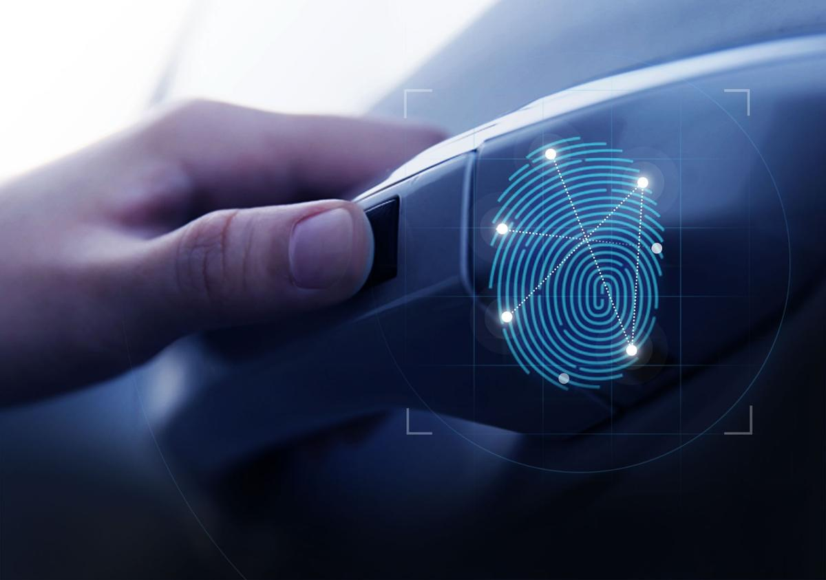 Hyundai says the fingerprint scanners in the doors have just a 1 in 50,000 chance of letting the wrong person in