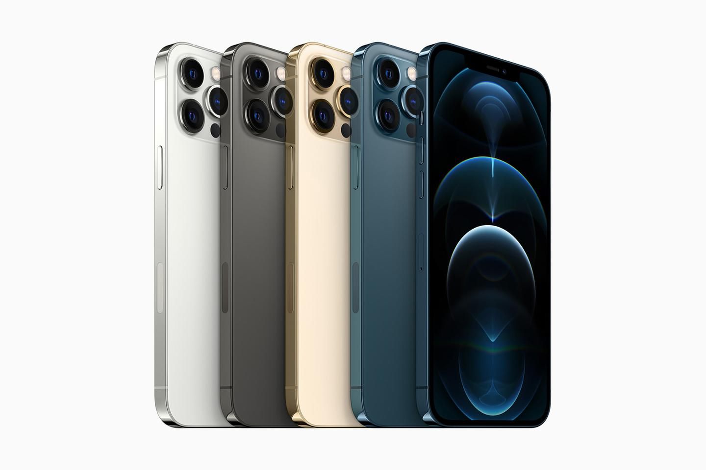 You've got four colors to pick from with the iPhone 12 Pro Max