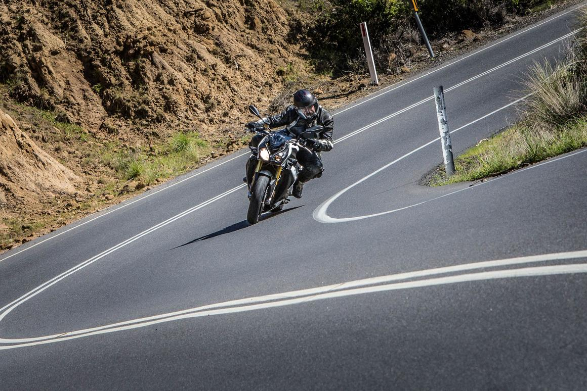 The BMW S1000R, pictured on the Great Ocean Road, Victoria (Photo: Chris Blain)