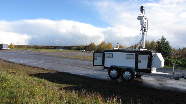 VTT's mobile traffic monitoring system