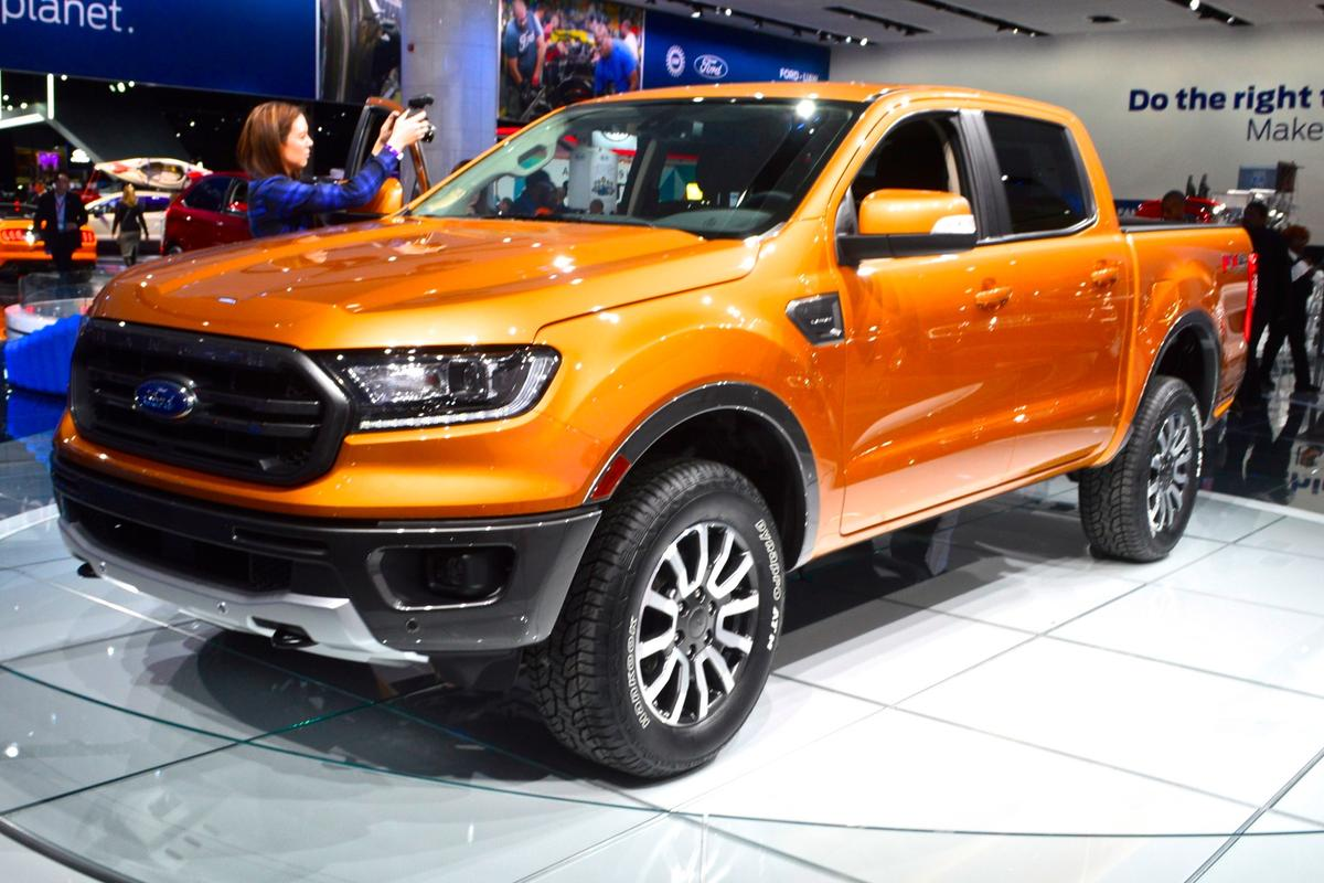 2019 Ford Ranger on show at NAIAS 2018
