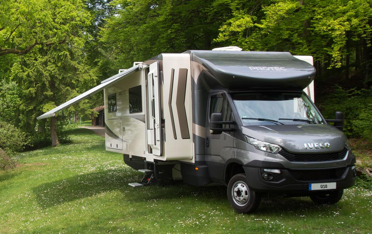 The Protec Q18 is based on an Iveco Daily chassis
